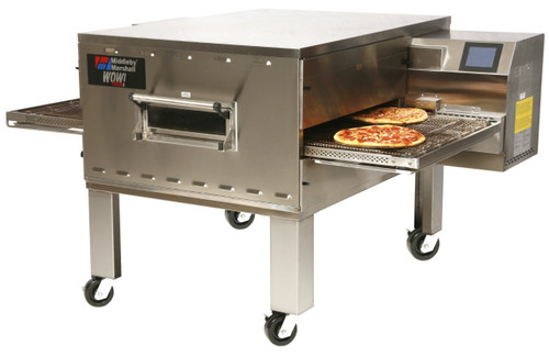 """Middleby PS640E Electrically Heated WOW! Impingement Plus Commercial Conveyor Ovens with 40.5 inch Long Cooking Chamber and 32"""" Wide x 76.5"""" Long Conveyor Belt 