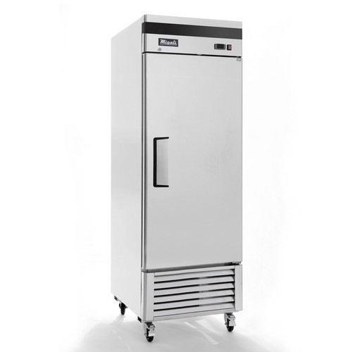 """Migali C-1RB-HC - One Section Solid Hinged Door 23 cu ft 27""""W Stainless Steel Competitor Series Bottom Mounted Reach-In Refrigerators 