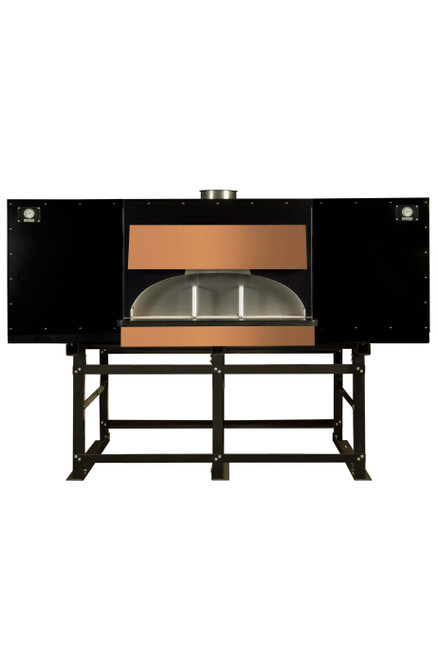 """Earthstone 130-Due-PACB Pre-Assembled Coal Burning Commercial Pizza Ovens with Pierre de Boulanger 