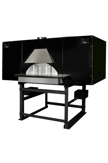 """Earthstone 110-Due-PACB Pre-Assembled Coal Burning Commercial Pizza Ovens with Pierre de Boulanger 