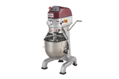 Axis AX-M20 20 Qt (Quart) Capacity Floor Model Gear Driven Commercial Planetary Mixer by MVP Group Corp