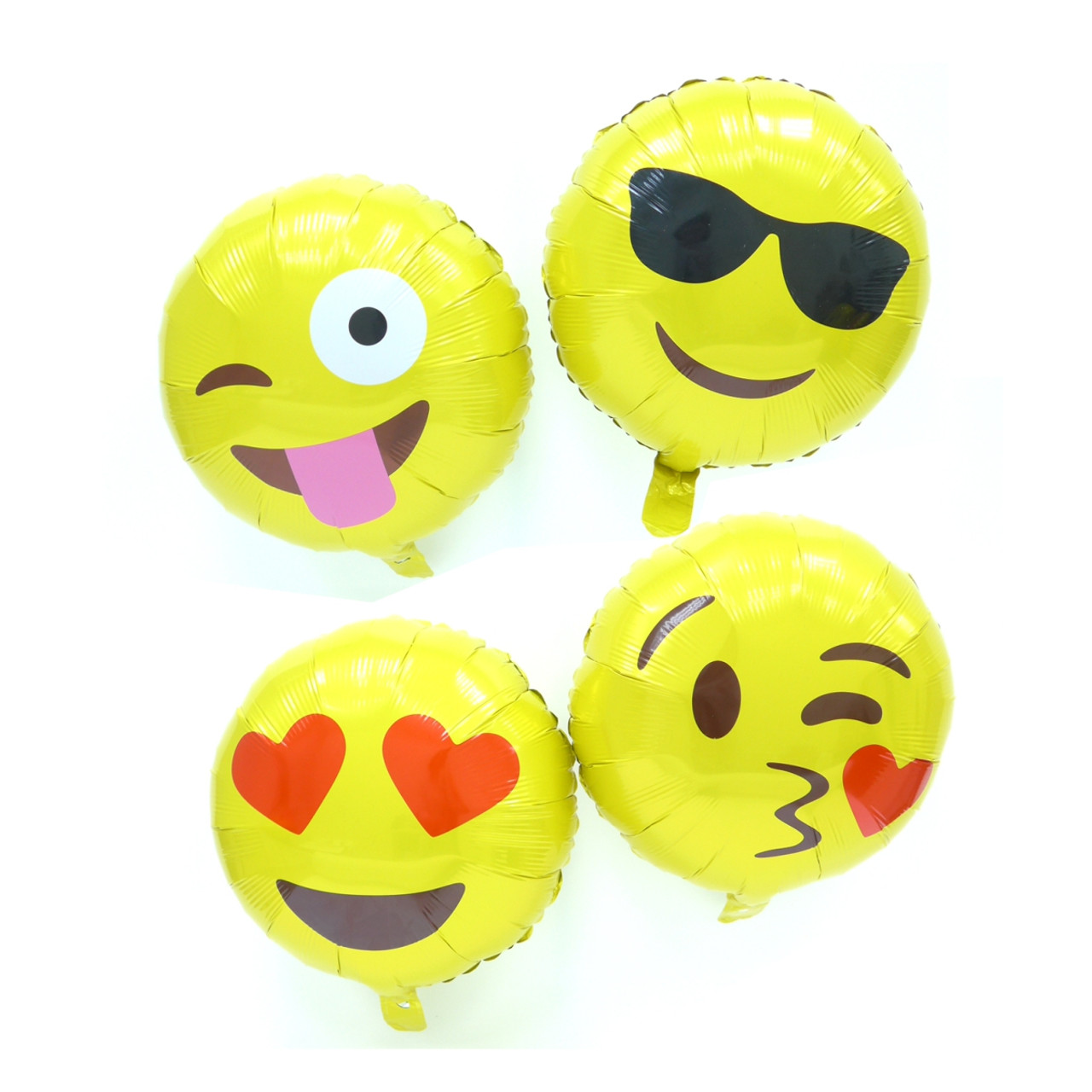 16 inch emoji balloons sunglasses smooch crazy love happymoments