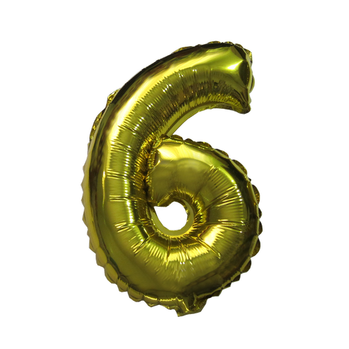 Number Balloons (Gold 6)