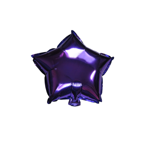 "Star Shape Balloon (10"" Purple)"