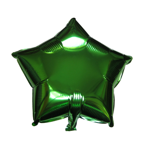 "Star Shape Balloon (17"" Green)"