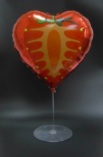 "21"" Clear Balloon Stand (Holds 7 Balloons)"
