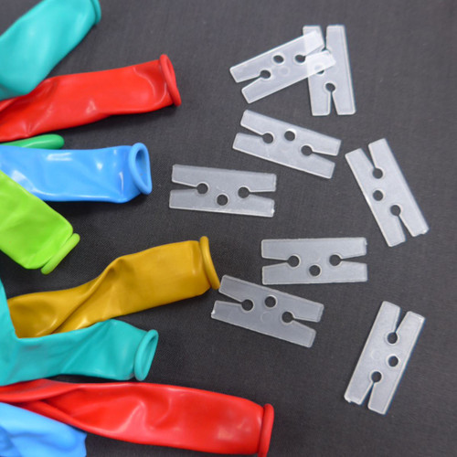 H Clip - H Shaped Balloon Clips for Latex Balloons 50pcs