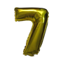 Number Balloons (Gold 7)