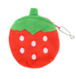 Mini Fruit Soft Plush Coin Purse (Strawberry / Pineapple)