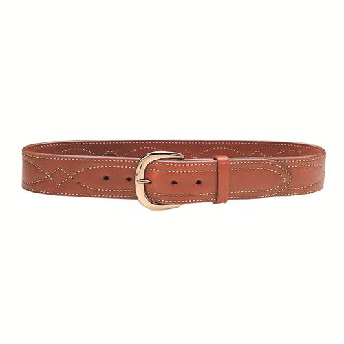Galco Gunleather SB6 Fancy Stitched Belt SB6-40 Tan 40