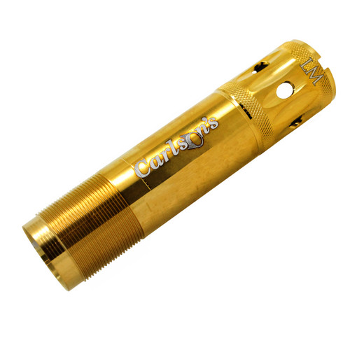 Carlsons Browning Invector Plus Gold Competition Target Ported Sporting Clays Choke Tube 12 Gauge Light Modified Gold Finish 18994