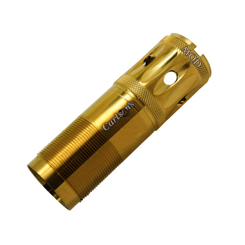 Carlsons Winchester Gold Competition Target Ported Sporting Clays Choke Tube 12 Gauge Modified Gold Finish 17894