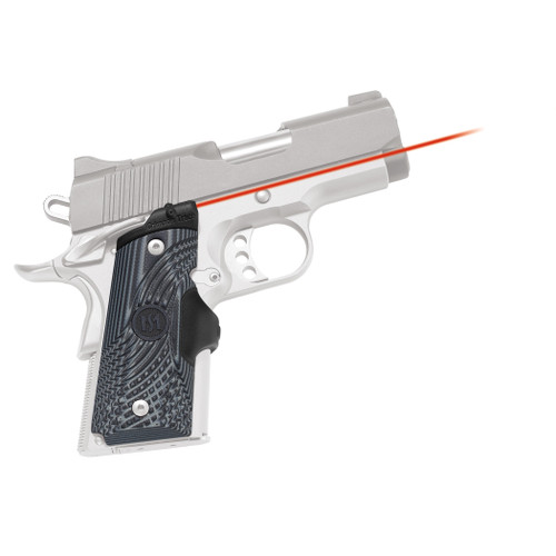 Crimson Trace Lasergrips 1911 Officer's Compact Defender Master Series LG-905