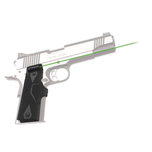 Crimson Trace 1911 Government Commander Lasergrips Green LG-401G
