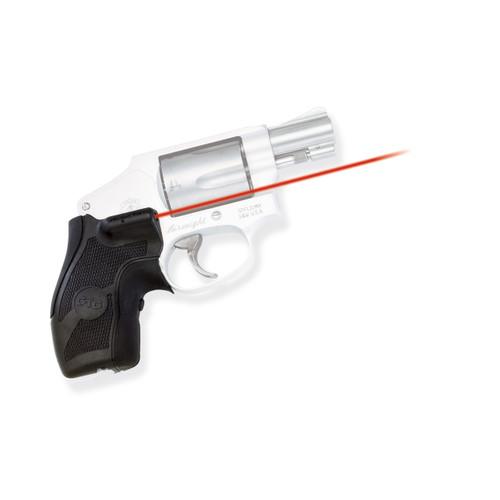 Crimson Trace Lasergrips S&W J-Frame Round Butt Boot Grip LG-405