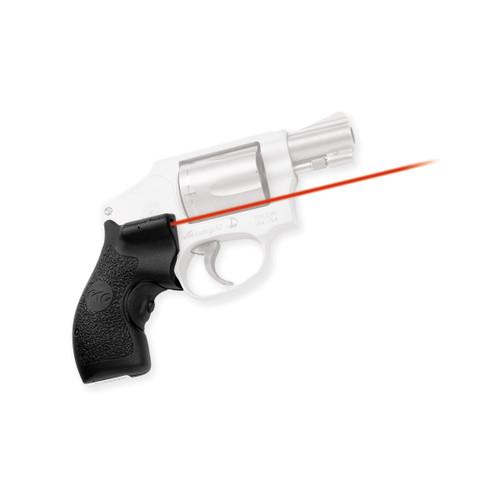 Crimson Trace Defender Lasergrips S&W J-Frame Round Butt LG-105