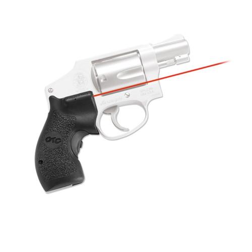 Crimson Trace S&W J-Frame Round Butt Lasergrips LG-105-S