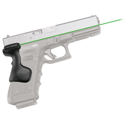 Crimson Trace Lasergrips Glock 17 17L 22 31 34 35 (Gen 3) Green LG-637G