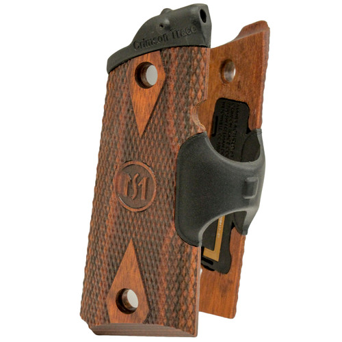 Crimson Trace Lasergrips 1911 Officer's Compact Defender Cocobolo Diamond LG-921