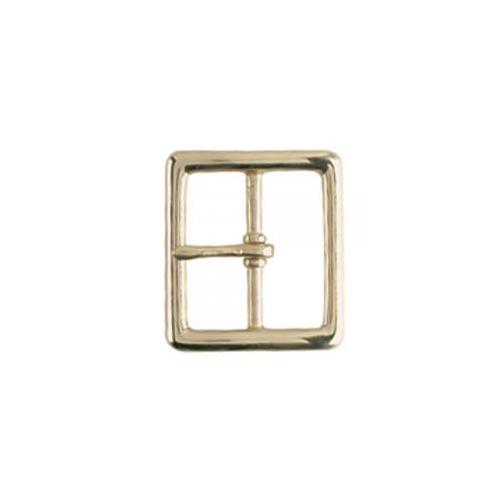 Gould & Goodrich Belt Buckle 125-GBR Brass Brass 1.75in.