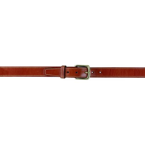 Gould & Goodrich Shooter's Belt 191-44 Chestnut Brown Nickel 44