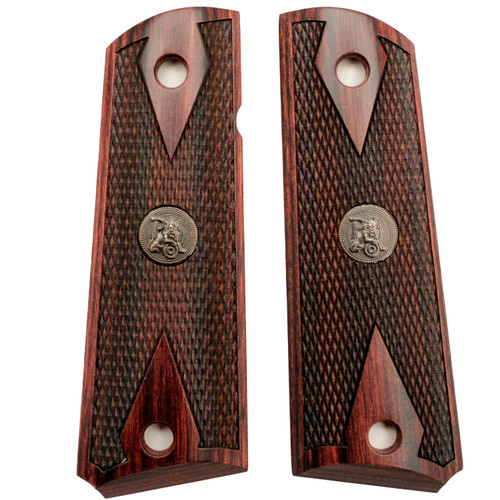 Pachmayr Colt 1911 Grip Double Diamond Rosewood 00440