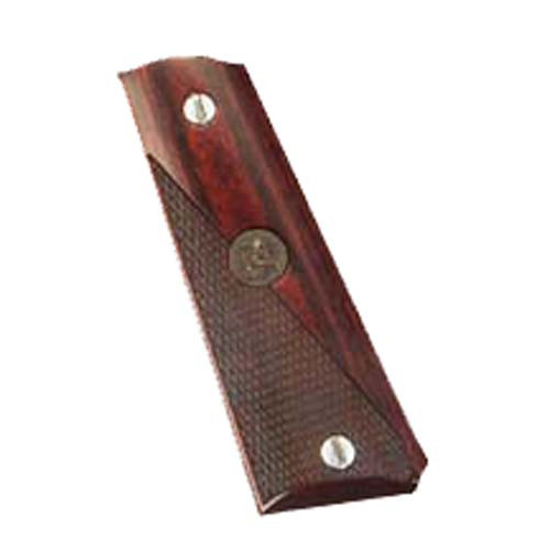 Pachmayr Colt 1911 Grip Half-Checkered Rosewood 00445