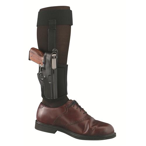 Gould & Goodrich Ankle Holster Plus Garter B816-62 Black 62 Right