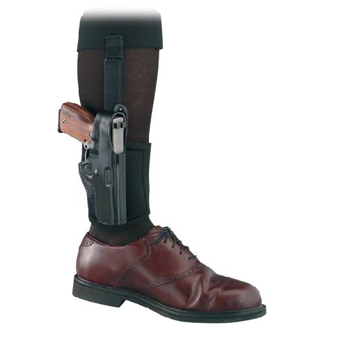Gould & Goodrich Ankle Holster Plus Garter B816-G27 Black G27 Right