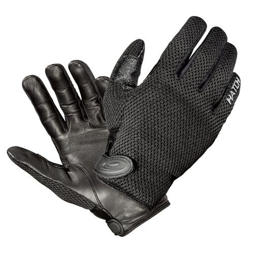 Hatch Cooltac Police Search Duty Gloves 3830 Black Large