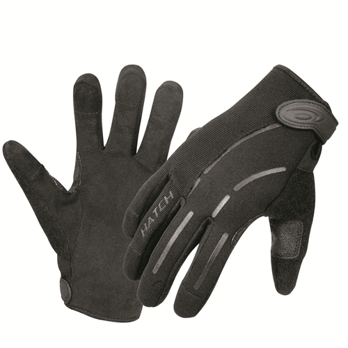 Hatch Puncture Protective Neoprene Duty Glove PPG2 XS Black X-Small