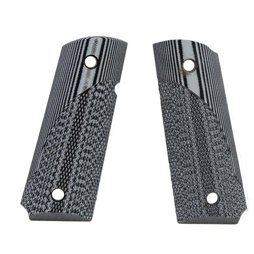 Pachmayr G-10 Tactical Pistol Grips Fits 1911 Officer Fine Gray/Black 61141