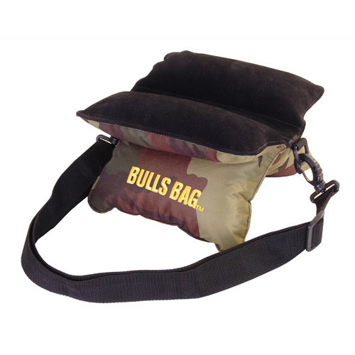 Bulls Bag/Uncle Buds Field Bag w/ Carry/Shoulder Strap 10in Polyester/Suede Camo 1501