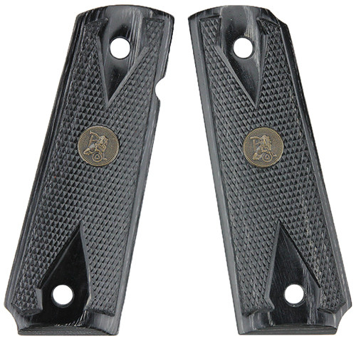 Pachmayr Colt 1911 Grip Double Diamond Checkered Laminate Charcoal 00441