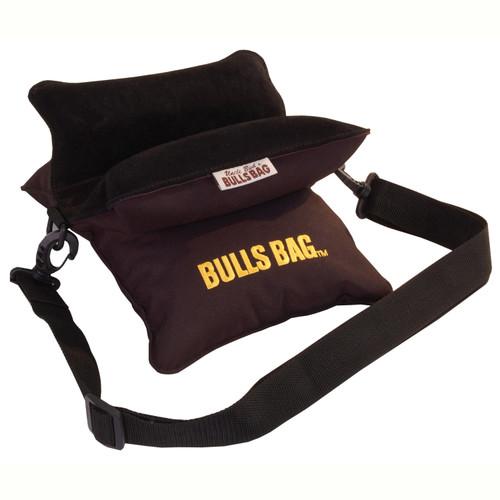 Bulls Bag/Uncle Buds Field Bag w/ Carry/Shoulder Strap 10in Polyester/Suede Black 1701