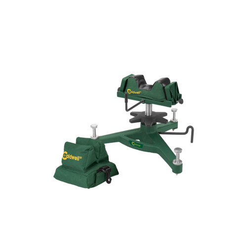 Caldwell The Rock Front Deluxe Shooting Rest & Rear Bag Combo (Filled) Green 383640