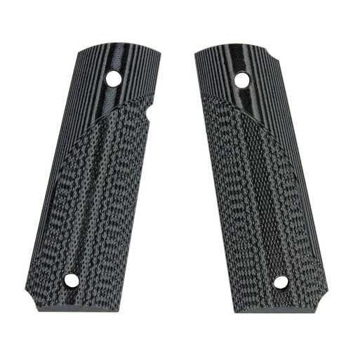Pachmayr G-10 Tactical Pistol Grips Fits 1911 Fine Gray/Black 61001