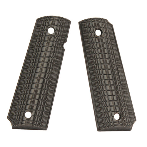 Pachmayr G-10 Tactical Pistol Grips Fits 1911 Coarse Gray/Black 61011