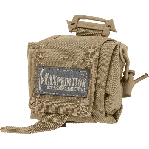 Maxpedition Mini Rollypoly Folding Dump Pouch 0207K Khaki