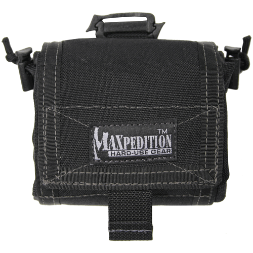 Maxpedition Mega Rollypoly Folding Dump Pouch 0209B Black