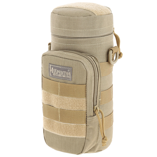 Maxpedition 10 X 4 Bottle Holder 0325K Khaki 1L