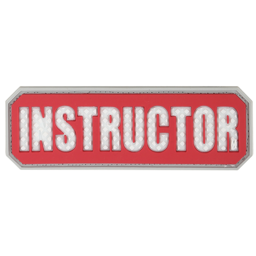 Maxpedition Instructor Morale Patch INSTR Red