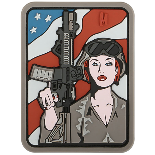 Maxpedition Soldier Girl Patch SDGLA Arid