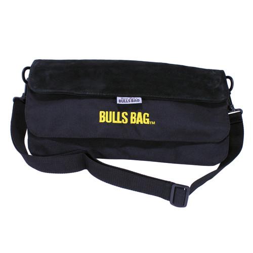 Bulls Bag/Uncle Buds Bench Rest w/ Carry/Shoulder Strap 15in Polyester/Suede Black 1705