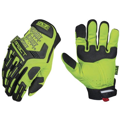 Mechanix Wear Hi-Viz M-Pact XD Glove SMP-91-009 Hi-Viz Yellow Medium