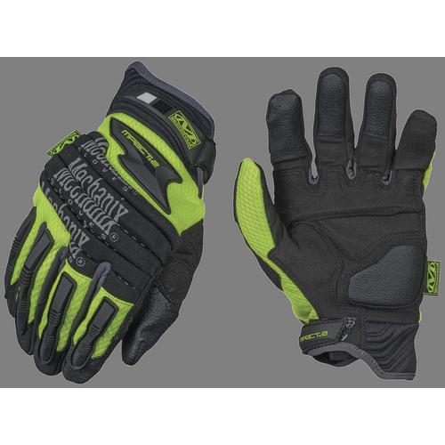 Mechanix Wear Hi-Viz M-Pact 2 Gloves SP2-91-008 Yellow Small