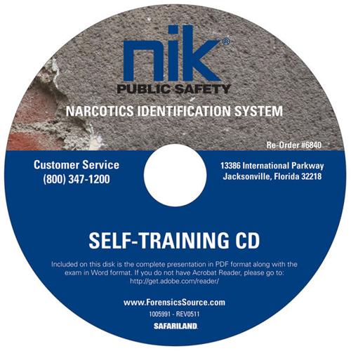 NIK Nik Self Training CD-ROM 6840