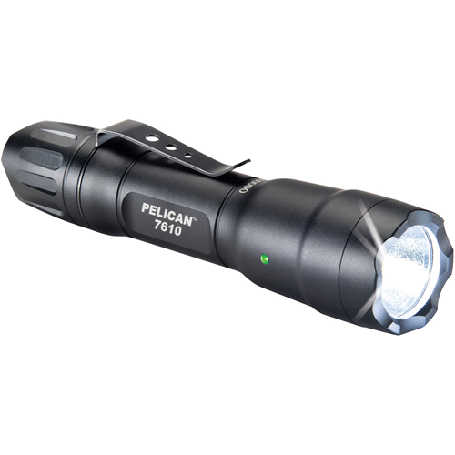 Pelican Products 7610 Tactical Flashlight 076100-0000-110