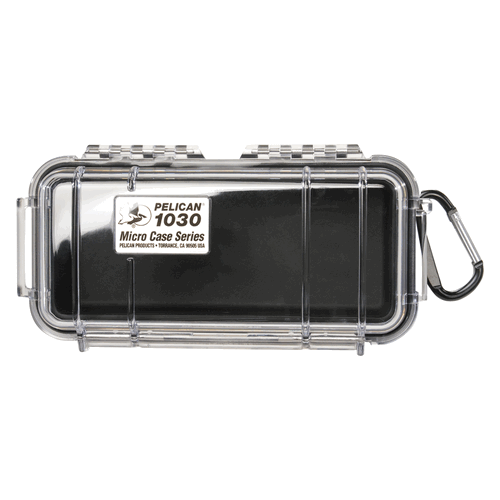 Pelican Products 1030 Micro Case 1030-025-100 Clear/Black