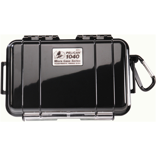 Pelican Products 1040 Micro Case 1040-025-100 Clear/Black
